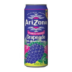 Arizona Grapeade Fruit Juice Cocktail 680ml 24 Pack