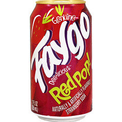 Faygo Red Pop 355ml Cans 12 Pack