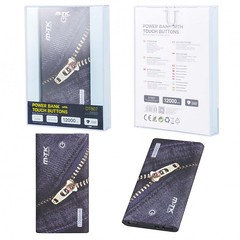 DT807 Powerbank Jeans 12000MAH with Touch Button, 2.1A