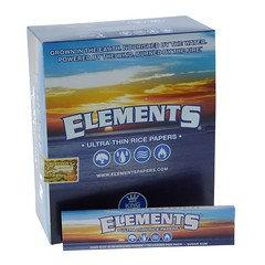 Element Blue Ultra Thin Rolling Paper 50 Per Box