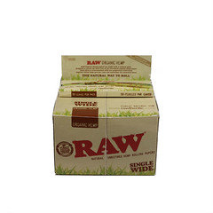 Raw Single Wide Organic Hemp 50 Per Box