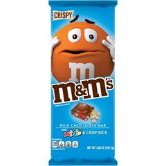 M&M's Extra Large Tablet Bar Crispy with Mini's 110g x 12