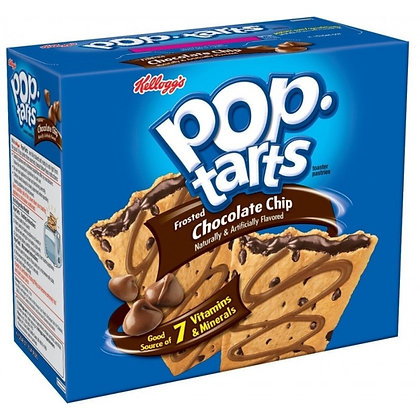 Pop Tarts Frosted Chocolate Chip 624g