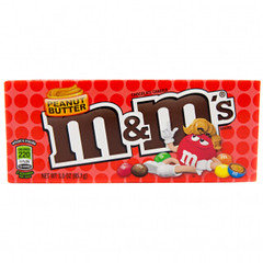 M&M's Peanut Butter Theatre Box 85g 12 Pack