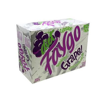 Faygo Grape Diet 355ml 12 Pack