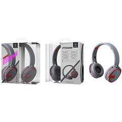 Woox BTS Headphone WC2795 (Gray&Red)