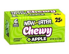 Now and Later Chewy Apple 26g x 24