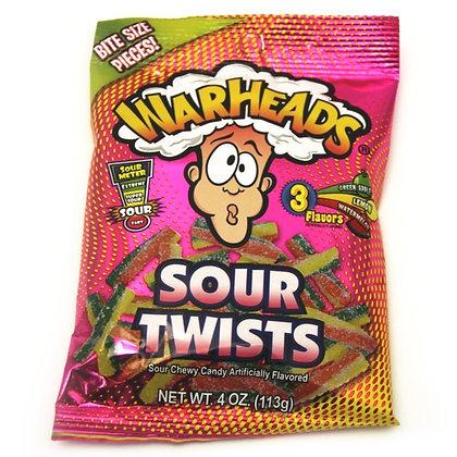 Warheads Sour Twists 113g
