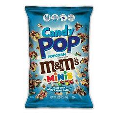 M&M Candy Popcorn Mini's 28g 8 Pack