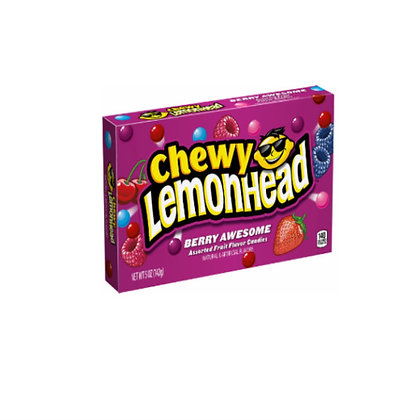 Chewy Lemonhead Berry Awesome 142g X 12