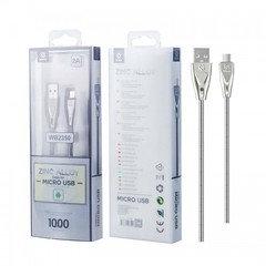 Micro Usb Cable Zinc Alloy Wb2350 (silver)