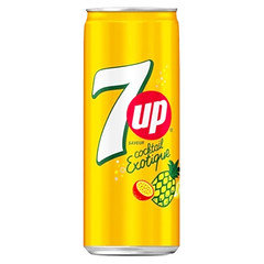 7UP Cocktale Exotique Can 24 Pack X 330ml