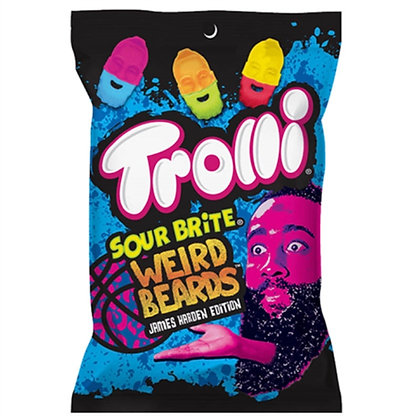 Trolli Sour Brite Weird Beards 120g