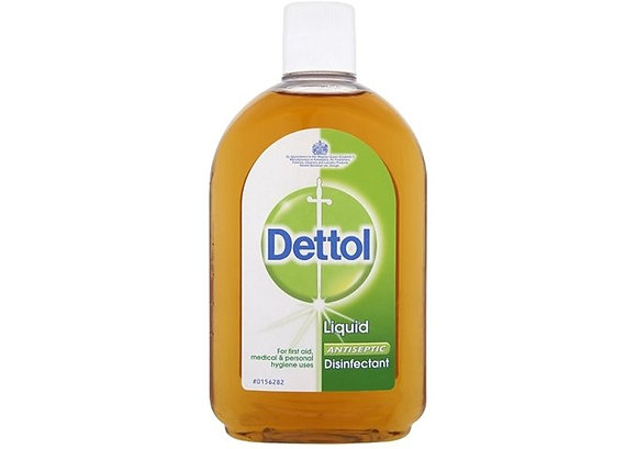 3 Bottles of Dettol 250ml