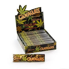 Cannabis Slim Rolling Rolling Paper 50 Per Pack