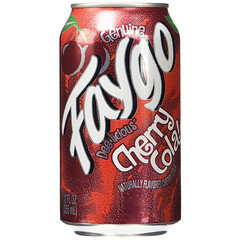 Faygo Cherry Cola 355ml Cans 12 Pack