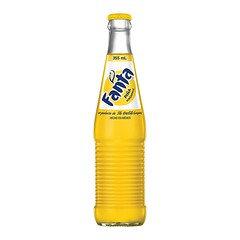 Mexican Fanta Pineapple Bottle 355ml 24 Pack
