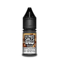 Ultimate Salts E-Liquid Custard Bostom Cream 10ml