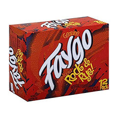 Faygo 355ml Cans 12 Pack Rock Rye