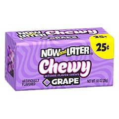 Now And Later Chewy Grape 26g 24 Pack