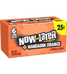 Now and Later Chewy Mandarin Orange 26g 24 Pack