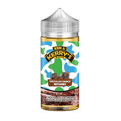 Ken & Kerry's E-liquid 100ml Chocolate Crunch Brownies