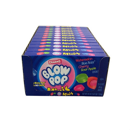 Blow Pop Minis (Theatre Box) 99g X 12