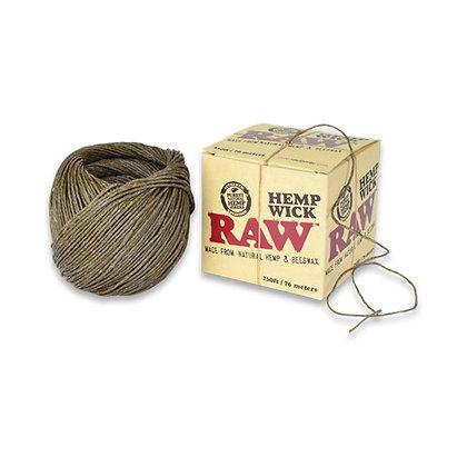 Raw Hemp Wick (Natural Hemp & Beeswax) 76m/ 250ft