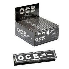OCB Black No.1 Standard Rolling Papers 50 Per Box