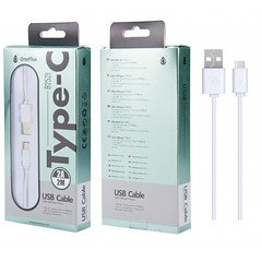Usb Caable Type-c 2a/2m Cable B2521 (white)