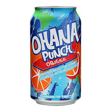 Faygo Ohana Punch Original 355ml Cans 12 Pack