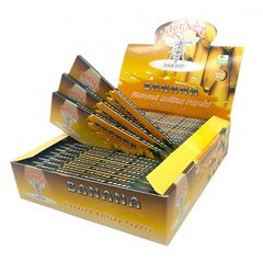 Hornet Banana King Size Flavoured Rolling Paper 25 Per Box