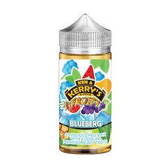 Ken & Kerry's Fruity E-liquid 100ml Blue Berg