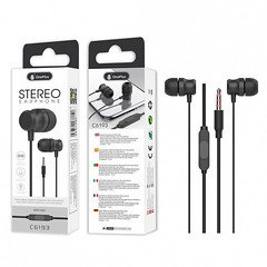 OnePlus Stereo Earphone With Mic C6193 (Black)
