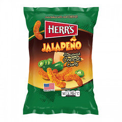 Herr's Jalapeno Flavoured Cheese Curls 28.4g
