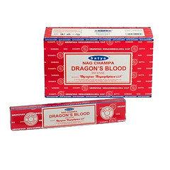 Satya 'Nag Champa Dragon's Blood' Incense (Pack of 12)