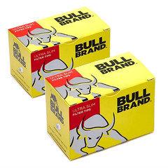 Bull brand ultra slim filter tips x 20