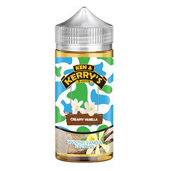 Ken & Kerry's E-liquid 100ml Creamy Vanilla