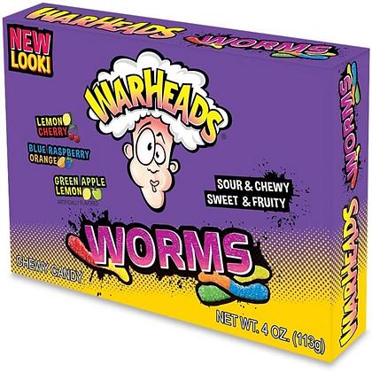 Warheads Worms (Theatre Box) 113g