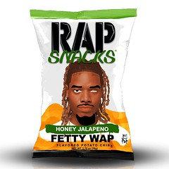 Rap Snacks Fetty Wap Honey Jalapeno (56 Packets/box)