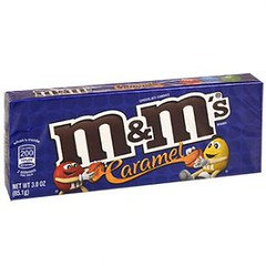M&M's Caramel Theatre Box 85g x 12