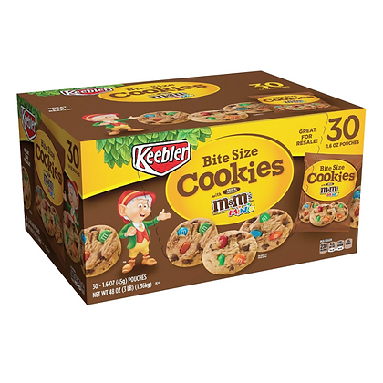 Cookies Bites Size 45g X 30