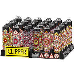 Clipper Mendala Metal Lighter 30 Pack