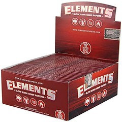 Element Red King Size Rolling Rolling Paper 50 Booklets