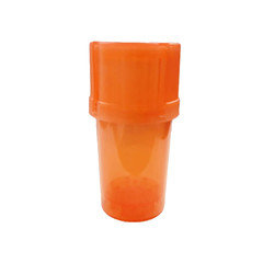 Plastic tube grinder  Assorted colours