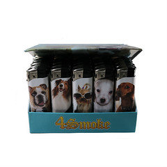 4Smoke Dog Electronic Lighters pk of 50