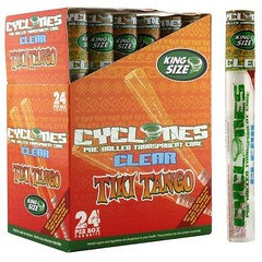 Cyclone Pre-Rolled Clear Flavoured Tiki-Tango Cones