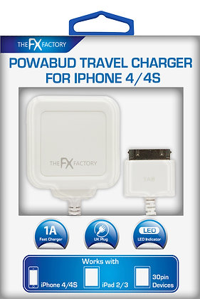 FX Factory Iphone 4 Travel Charger