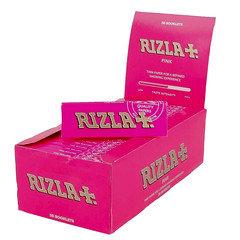 Rizla Pink Standard Rolling Papers 50 Per Box
