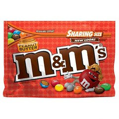 M&M's Peanut Butter Sharing Size SUP 272g x 8
